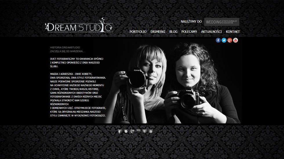 Zrzut z projektu Dream Studio